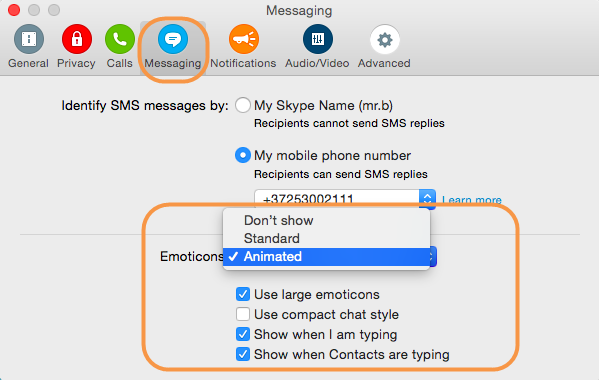 how to delete skype messages on mac