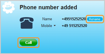 skype for android phone number country code