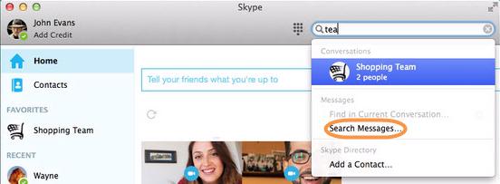 comment trouver skype sur mac