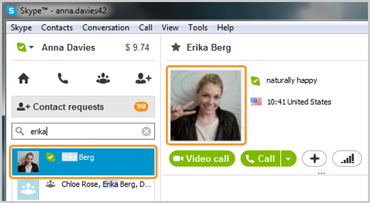 how to find someone on skype with name