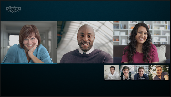 how to make a free group call on skype