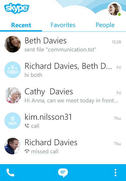скачать скайп для андроид 2.3 - фото 5