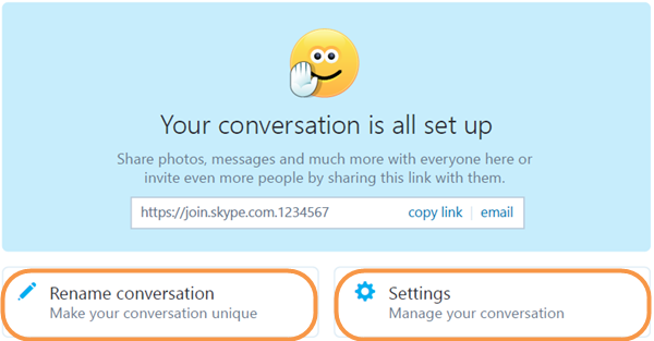 how to search a skype conversation