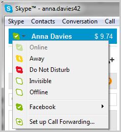 Skype Status