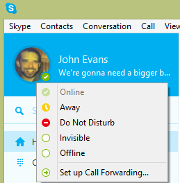 Skype icons status meaning joke - Credo cft coin toss near me