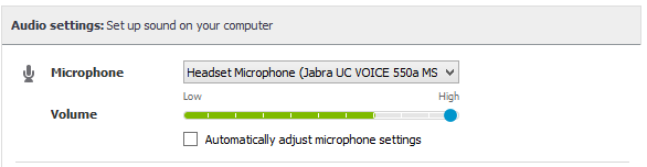 how to get skype microphone working