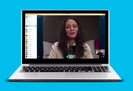 'Make video and voice calls to your friends on Skype' from the web at 'https://az545221.vo.msecnd.net/skype-faq-media/faq_content/skype/videos/windows desktop/windows_07_free_voice_video_calls_260x178.jpg'