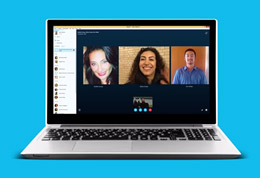Make a group video call